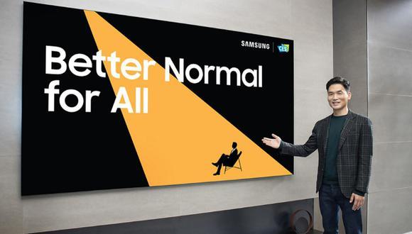 Samsung compartió su visión para el futuro en el 2021 Consumer Electronics Show (CES). (Foto: Samsung Electronics Co., Ltd.)