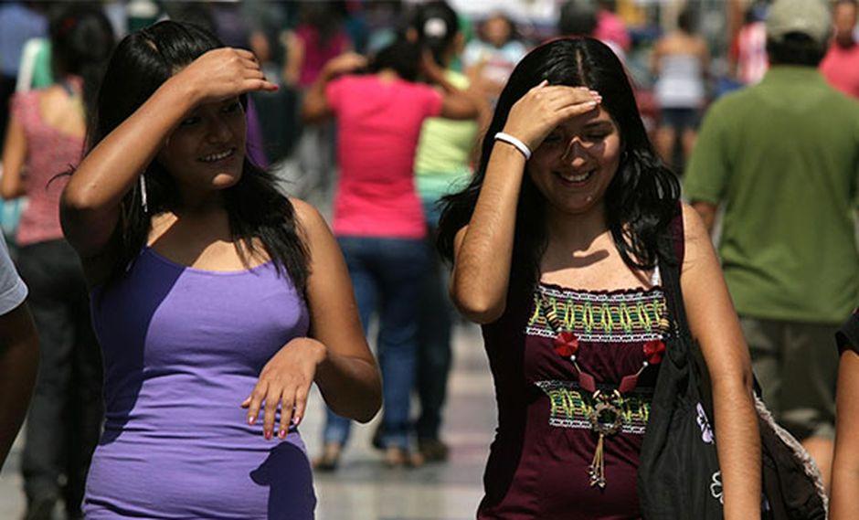 El verano ya se siente con fuerza en Lima. (Foto: Agencia Andina)