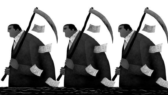 """""""En ningún caso debe haber borrón y cuenta nueva. En los últimos años hemos sido testigos de que la corrupción e impunidad vienen carcomiendo nuestras instituciones republicanas"""".(Ilustración: Víctor Aguilar)"""
