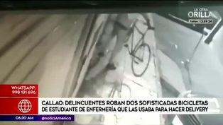 Callao: roban bicicletas de estudiante de enfermería usadas para hacer delivery
