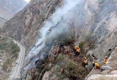 Cusco: brigadistas luchan por sofocar cuatro incendios forestales simultáneos | VIDEO
