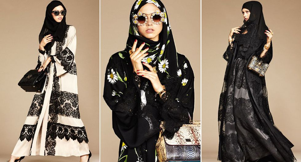 Dolce & Gabbana presentó colección para mujeres musulmanas