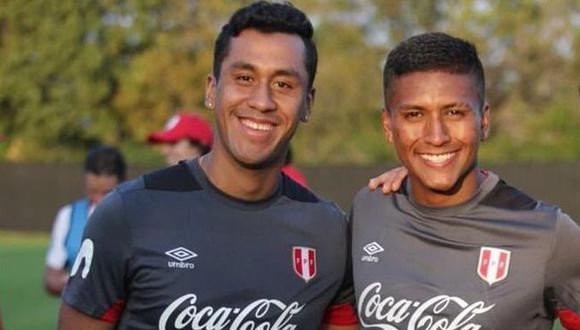 Tapia y Aquino, dos pilares de la selección peruana que destacan en el exterior. (Foto: FPF)