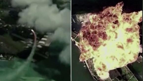 El video que simula el ataque a una base militar ha sido criticado en las redes sociales. (Foto: Captura YouTube).