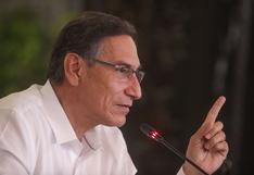 """Martín Vizcarra: """"César Gentille recibió una orden de Merino para que endurezca medidas de represión"""""""