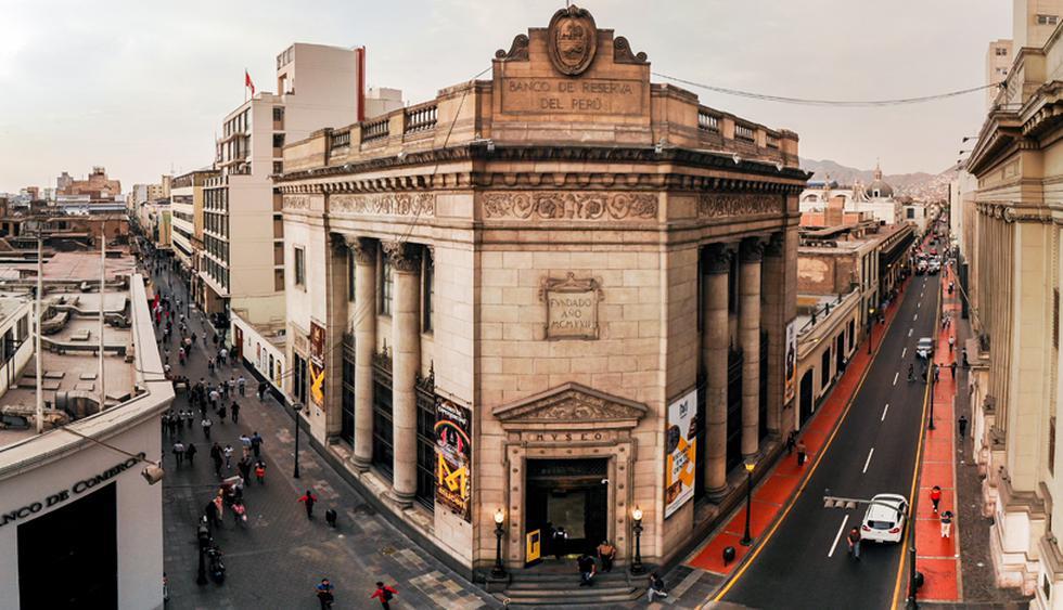 El Mucen se ubica en el cruce de los jirones Lampa y Ucayali en el Centro de Lima. El edificio fue inaugurado en 1929. (Foto: BCRP)