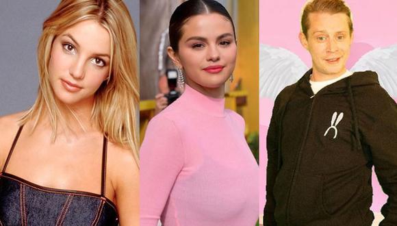 Britney Spears, Macaulay Culkin, Luis Miguel, Selena Gómez, y Belinda, son algunas de los famosos que tuvieron a sus padres como representantes (Foto: Vanity Fair/ IG Selena Gómez/ IG Macaulay Culkin)