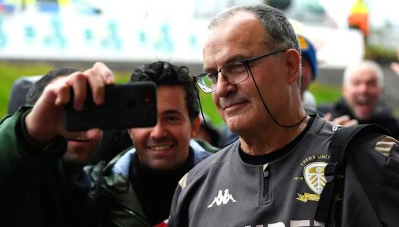 Marcelo Bielsa negocia una renovación con el Leeds United. (Foto: AFP)