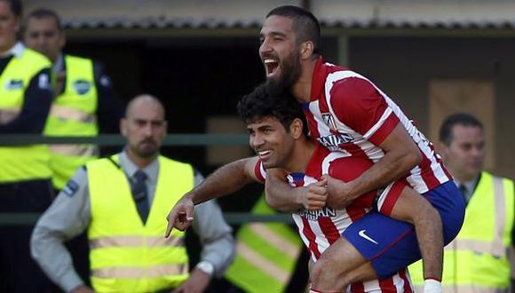 Atlético de Madrid venció 2-0 a Betis con un gol de Diego Costa