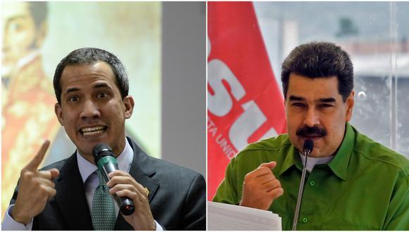 Un comunicado firmado por Juan Guaidó daba noticias sobre el final del proceso de conversación entre el régimen de Nicolás Maduro y la oposición en Barbados, con la intermediación de Noruega. (AFP)