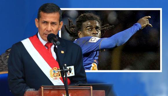 Ollanta Humala condenó insultos racistas contra brasileño Tinga