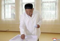 Kim Jong-un participa de unas elecciones en Corea del Norte con 99,98% de participación