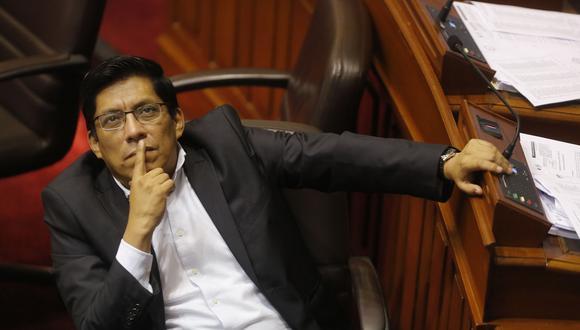 El ministro de Justicia, Vicente Zeballos, ratificó su opinión en contra del indulto a Alberto Fujimori. (Foto: Archivo El Comercio)