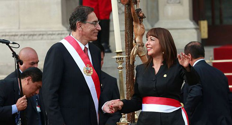 Liliana La Rosa juró al cargo de titular del Midis este lunes. (Foto: Andina)