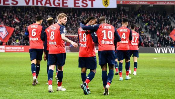 Lille estaba enel cuarto puesto de la Ligue 1 al momento de finalizar la temporada. (Foto: LOSC)