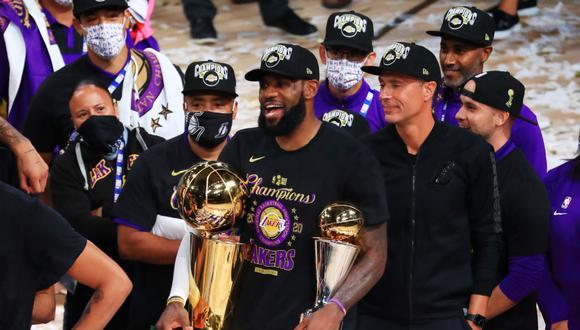 LeBron James fue el MVP de las finales de la NBA. (Foto NBA Latinoamérica)