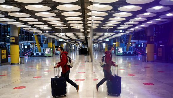 Coronavirus en España | Últimas noticias | Último minuto: reporte de infectados y muertos hoy, miércoles 17 de febrero del 2021. | Covid-19 |Imagen del aeropuerto de Adolfo Suárez Madrid-Barajas. (Foto: EFE)