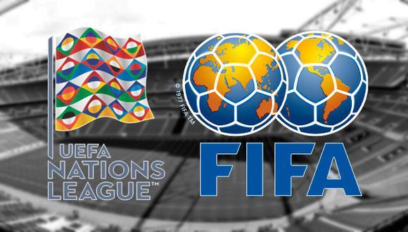 Los amistosos FIFA y la UEFA Nations League son programadas por ambas confederaciones esta semana. Conoce la fecha, hora y canales TV para no perderte ningún detalle. (Foto: Composición)