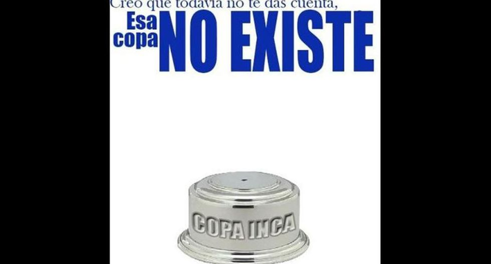 Burla crema: mira los memes en contra de Alianza y la Copa Inca - 2