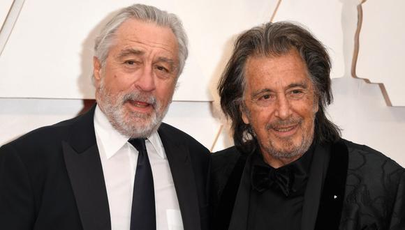 """Robert de Niro y Al Pacino serán guardaespaldasde Lady Gaga en la película """"Gucci"""". /Foto: AFP/Robyn Beck)"""
