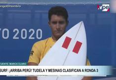 Tokio 2020: Miguel Tudela y Lucca Mesinas avanzan a la ronda 3 en surf