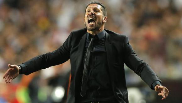 "Diego Simeone, orgulloso: ""Esta derrota no merece una lágrima"""