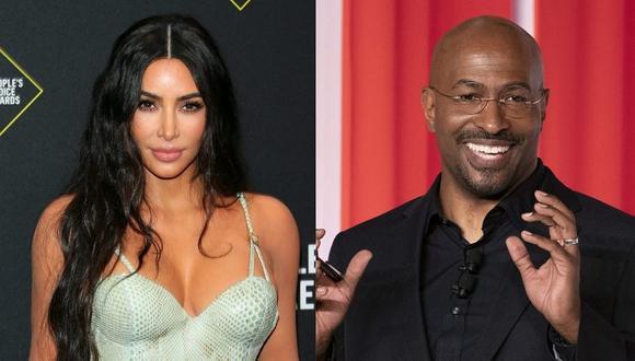 Kim Kardashian y Van Jones están siendo vinculados tras su separación de Kanye West. (Foto: AFP)