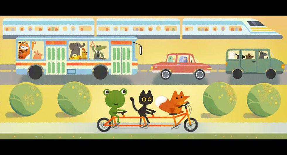Google: doodle llama a la reflexión por el Día de la Tierra - 9