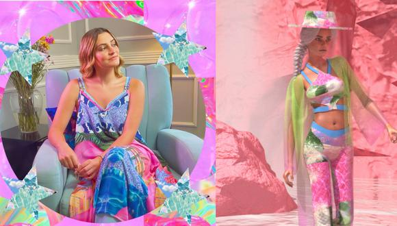 Camille Defago tomó como punto de referencia la catarata de Gocta para desarollar una nueva colección enteramente digital en el marco del Mercedes Benz Fashion Week Russia. (Fotos: Camille Defago)
