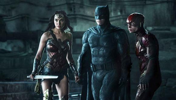 Batman, Superman, la Mujer Maravilla, Aquaman, Flash y Cyborg serán los encargados de enfrentarse a Darkseid y sus secuaces Steppenwolf y DeSaad. (Fotos: Difusión)