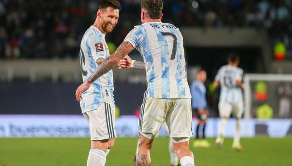 Con Lionel Messi, mira la posible formación de la selección Argentina vs. Perú   Foto: @Argentina
