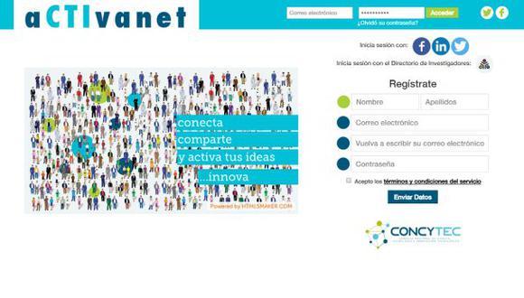 Red social de Concytec conecta a científicos con inversionistas