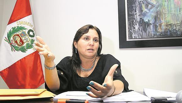 Marisol Pérez Tello indicó que respeta las decisiones que se tomen en el partido y las acatará. (Foto: GEC)