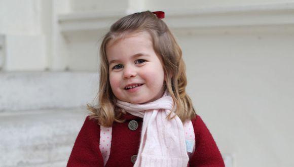 La princesa Charlotte ha pedido un regalo algo excéntrico  por Navidad y esto le ha causado risa a muchos (Foto: AFP)