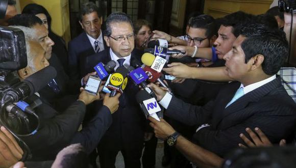 Debido a su viaje a Brasil, Pablo Sánchez pidió esta semana que la comisión reprograme la invitación que le cursó. (Foto: Congreso de la República)