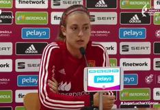 """Alexia Putellas: """"Estamos felices por el pasito que hemos dado"""""""