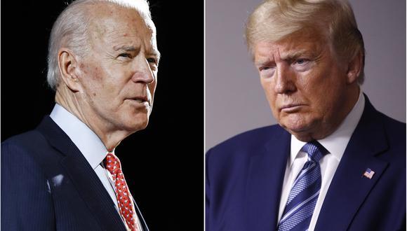 Las encuestas muestran al demócrata Joe Biden con una ventaja de hasta 8 puntos sobre el presidente Donald Trump. (AP)