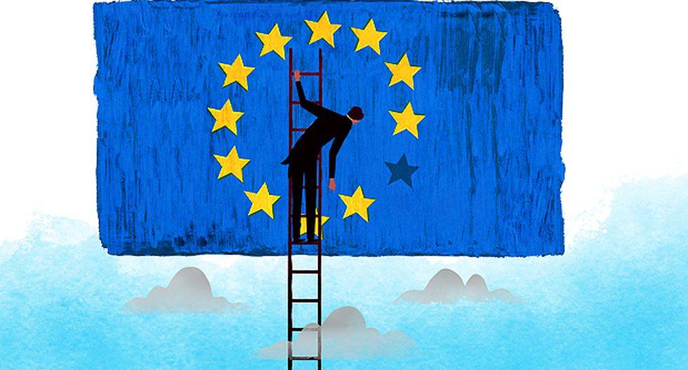 """""""Por lo tanto, en lugar de contemplar un futuro fuera de la UE, los británicos enfrentan aun más confusión, crisis y frustración"""" (Ilustración: Víctor Aguilar)"""