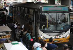 Paro de transporte público: servicio se ha suspendido cerca del 70% en Lima y Callao, señala gremio de transportistas