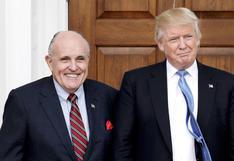 Trump podría acudir de nuevo a Giuliani para defenderse de juicio político