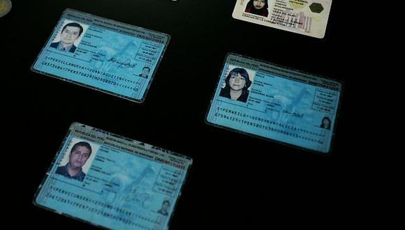 Reniec adopta nuevo sistema para identificar documentos falsos