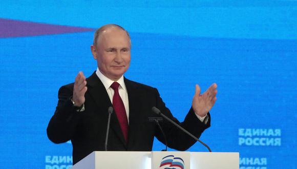 El presidente de Rusia, Vladimir Putin. EFE