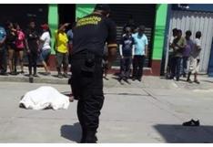 Junín: asesinan a policía que intentó frustrar asalto a comerciante en Pichanaki