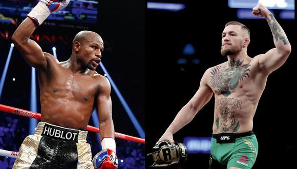 Izquierda: Mayweather, a pesar de sus 40 años de edad, conserva aún la agilidad que lo hizo famoso. Derecha: McGregor, luchador de 29 años de MMA. Su juventud y potencia son su mejor carta.