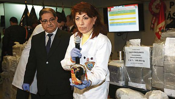 La policía incauta una tonelada de cocaína en una semana