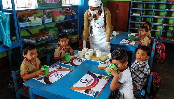 Qali Warma invertirá S/1.800 millones para la distribución de alimentos en las escuelas del páis (Foto: cortesía)