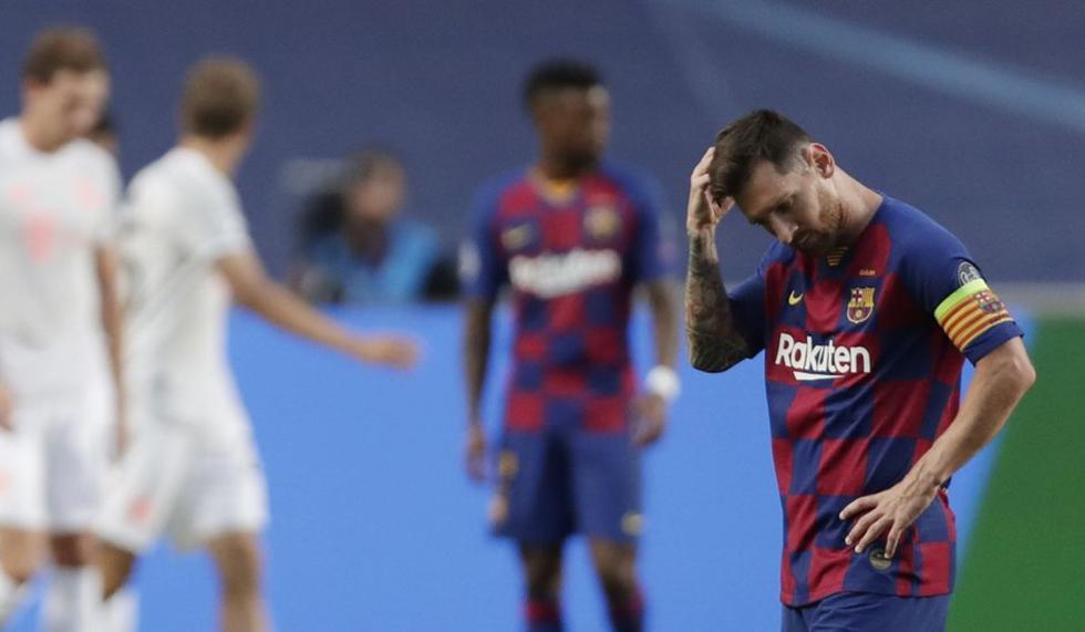 La temporada 2019-2020 estuvo cerca de ser la última de Messi con el Barcelona. El argentino hizo público su deseo de marcharse del club culé, sin embargo, tuvo que quedarse contra su voluntad. (Foto: AFP)