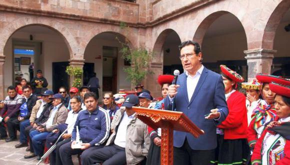 """El burgomaestre consideró que la película """"es una producción discrimandora y racista que va en contra de la cultura y dignidad andina"""" (Foto: Municipalidad Provincial del Cusco)"""
