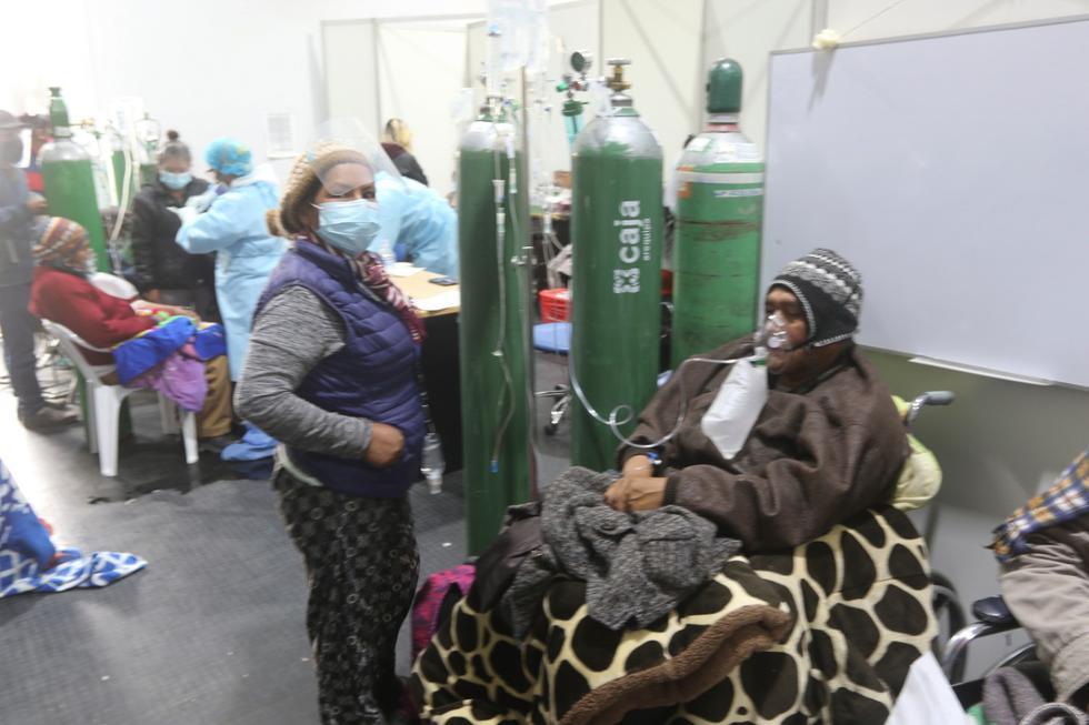Pese a que el Ministerio de Salud ha enviado brigadas de médicos y enfermeras a esta región, todavía hace falta más personal de salud para atender el alto número de pacientes contagiados de COVID-19. (Eduardo Barreda / GEC)