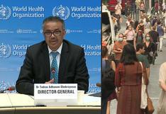 La OMS insta a los gobiernos a que actúen para eliminar el coronavirus